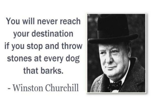 You will never reach your destination