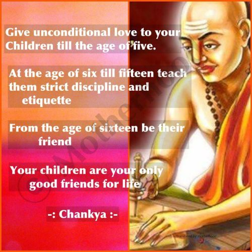 Parenting instructions given by great Chanakya