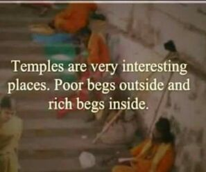 irony of temples