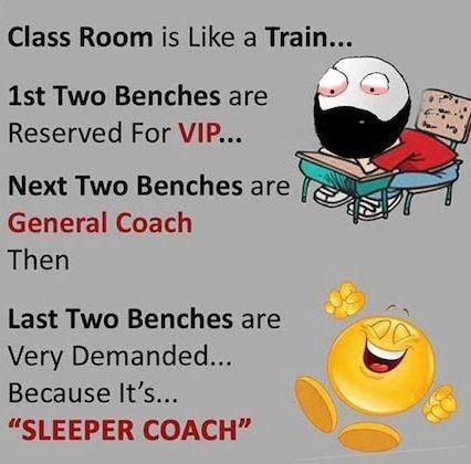 Class Room is like a Train