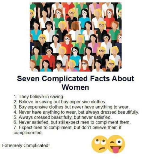 Seven complicated facts about women