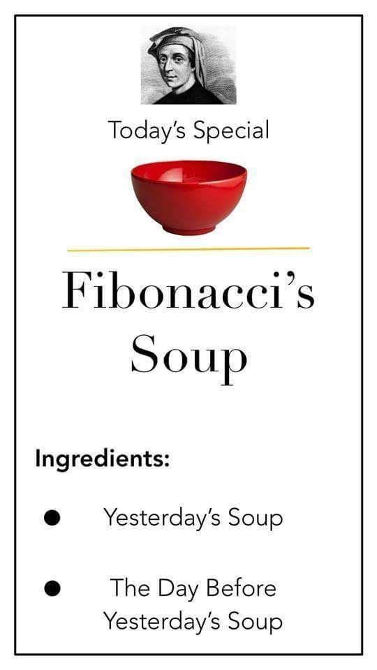 Fibonacci soup