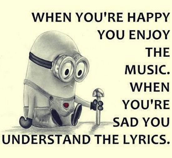 emotions and music songs